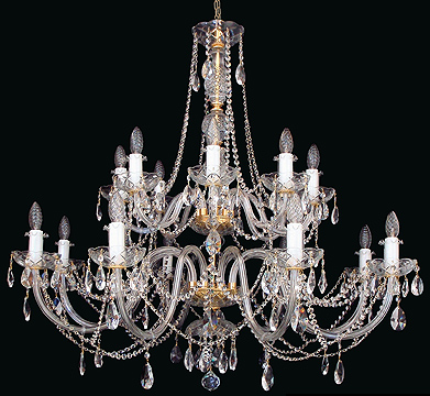 Crystal Chandeliers ELITE BOHEMIA
